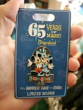 Disneyland 65th Anniversary 65 Years or Magic 2020 Mickey & Minnie LR Disney Pin