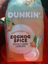 Dunkin Eggnog Spice Winter Edition Ground Coffee 3 Bags