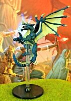 Blue Dragon D&D Miniature Dungeons Dragons ancient Tyranny 41 adult large rpg A