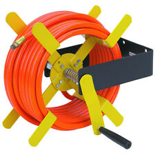 100 FT. 100 FT. Steel Hose Reel Air compressor-Pneumatic Hose