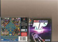 True PINBALL PLAYSTATION 1 PS1 PS 2 Pin Ball Sim