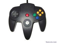 # Original Nintendo 64/contrôleur n64 noir avec fixe analogique Stick-TOP #