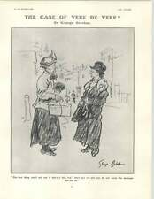 1929 The Language Of A Lady Eating The Brides Health Cartoon