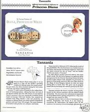 TANZANIA PRINCESS DIANA MEMORIAL First Day Cover (9465)