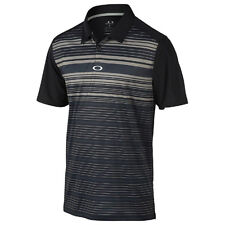 NWT OAKLEY Legacy Golf POLO Sweat Wicking HYDROLIX Black 433451  Mens XXL Shirt