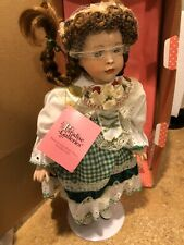 Treasury Collection Paradise Galleries Porcelain Doll Shannon the Shamrock Fairy