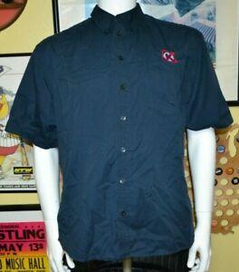 Circle K Convenience Store Gas Station Button Up Uniform Worker Shirt Medium
