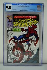MARVEL COMICS CGC 9.8 THE AMAZING SPIDER MAN 361 4/92 WHITE PAGES