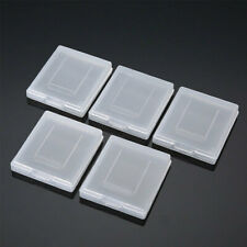 5pcs Clear Plastic Cartridge Game Case Dust Cover for Game Boy GB GBC GBP New