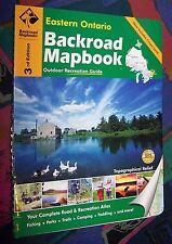 EASTERN ONTARIO (Kanada) - Backroad Mapbook Road Atlas - (Atlas + Reiseführer)