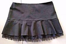 Women's Trixxi Black Lace Bottom Short Mini Skirt Junior's size 9