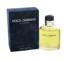 D&G Dolce Gabbana Homme Men 4.2 OZ 125 ML Eau De Toilette Spray Nib Sealed