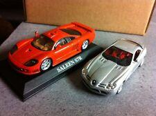 SALEEN S7R + MAC LAREN MERCEDES SLR au 1/43