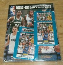 Panini NBA 2019/20 Collection Album Starter Pack + 20 Stickers & 4 Cards