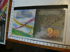 1984 My Little Pony ORIGINAL CEL ART from Adventure book: APPLEJACK