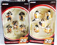 10 pcs Tony Stewart #20 NASCAR Pit crew Mini Christmas ornaments Bears Snowmen