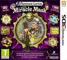 Professor Layton and the Miracle Mask 3DS   &    lost future DS  NEW&SEALED