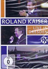 DVD NEU/OVP - Roland Kaiser - Live in Dresden