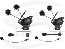 Sena 30K Dual Motorcycle Helmet Bluetooth Audio Communication Intercom System