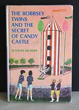 1962 The BOBBSEY TWINS Secret of Candy Castle 61 HDCVR Laura Lee Hope FREE SH