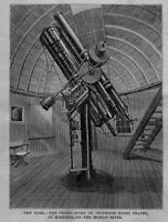 TELESCOPE OBSERVATORY OF PROFESSOR HENRY DRAPER AT HASTINGS ON THE HUDSON RIVER