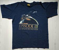 T-Shirt Officiel STAR WARS 3 : La Revanche des Sith (M)
