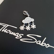 orig.Thomas Sabo Silber Charm Anhänger Wolke 925 Silver Pendant Element NEU NEW