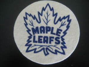VINTAGE TORONTO MAPLE LEAFS NHL HOCKEY FELT CREST PATCH from the 1960's?