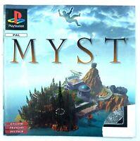 Notice du jeu seule : Myst - Playstation 1 / PS1 - Français