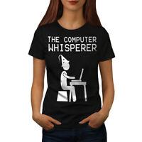 Wellcoda Programmer Womens T-shirt, Funny Slogan Casual Design Printed Tee
