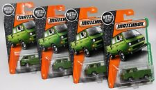 VOLKSWAGEN TRANSPORTER CAB * LOT OF 4 * 2017 MATCHBOX * TOOLS IN BED VARIATION