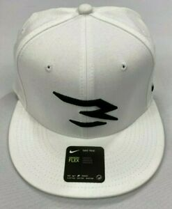 Nike True Russell Wilson Swoosh Flex QS White/Black Hat AH5151-010 One Size