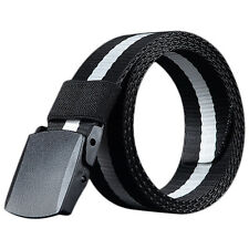 Men Outdoor Sports Military Tactical Nylon Waistband Canvas Web Belt New Soft