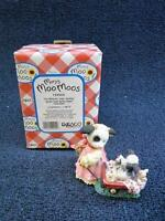 Enesco Mary's Moo Moos, I'm Moovin Into Spring, Mom Cow With Baby (a409)