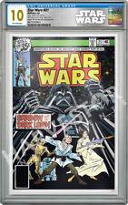 STAR WARS COMICS - STAR WARS #21 - 35G SILVER FOIL - CGC 10 GEM MINT - FIRST REL