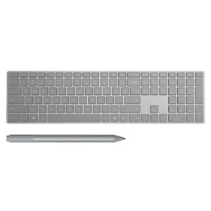 Microsoft Surface Keyboard Gray+Surface Pen Platinum - Bluetooth Connectivity fo
