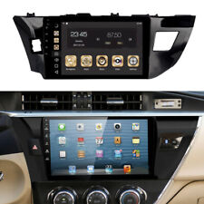 """Fit For Toyota Corolla GPS Navigation 10.2"""" Radio Stereo DVD Player + Camera Kit"""