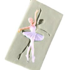 Ballet  Girl Silicone Mould Fondant Sugarcraft Chocolate  Cake Handmade Tools