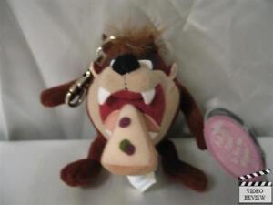 Tasmanian Devil (Taz) 3 inch Wiggler mini-plush doll, Looney Tunes; Applause NEW