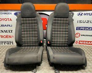 VW GOLF GTI MK5 3 DOOR TARTAN CLOTH INTERIOR SEATS