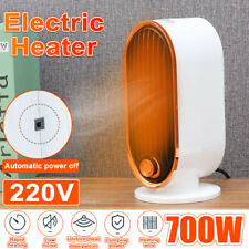 Home Office Silent Portable Electric Space Heater 700W 220V Fan Forced Adjust