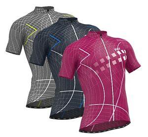 FDX Mens Classic Cycling Jersey Breathable Half Sleeve Lightweight Biking Tops