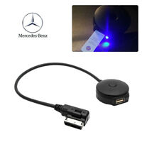 Wireless Interface Black Bluetooth Music Adapter For Mercedes-Benz MMI AUX Cable