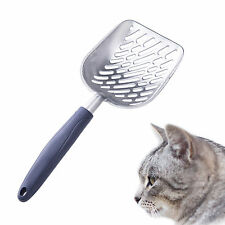 New listing Aluminum Alloy Cat Kitty Litter Box Poop Scoop Durable Cat Litter Scoop Good