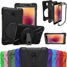 """For Samsung Galaxy Tab A 8.0"""" Hybrid Shockproof Case Rubber PC Stand Case Cover"""