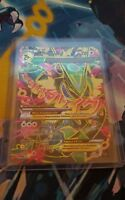 Pokemon TCG Card M Rayquaza EX 105/108 Full Art Ultra Rare Roaring Skies