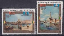 "SENEGAL 1972 UNESCO ACTION ""RESCUES VENICE"" PAINTINGS BY GUARDI MNH C4790"