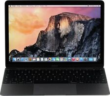 Apple MacBook 12 - Intel Core m3 1.10GHz (256GB SSD|spacegrau) 2016