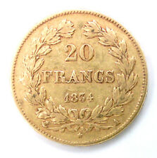 20 Francs Or LOUIS PHILIPPE - 1834 A PARIS