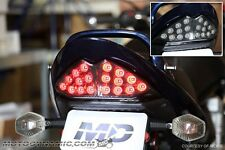 07-09 Suzuki Bandit GSF1250S GSX650F GSX1250FA SEQUENTIAL LED Tail Light SMOKE